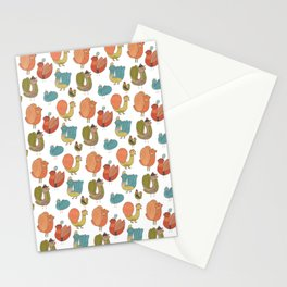 Pattern Projects #7 / Bird Parade Stationery Cards