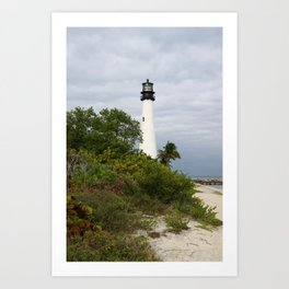 Bill Baggs - Cape Florida Light Art Print