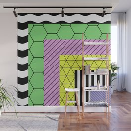 Go Bigger (Abstract, geometric, pastel designs) Wall Mural