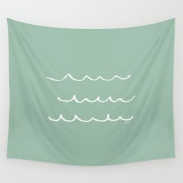 Water - Minimal FS - by Friztin Wall Tapestry