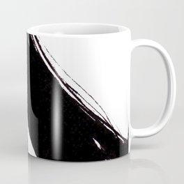 Abstract Wall art, Abstract Print, Black White Abstract Print, Black White Art, Minimalist Print, Ab Coffee Mug