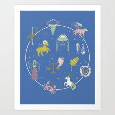Strange Fortunes: Dreamscape Art Print