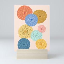 Coloful Sea Urchins 2 Mini Art Print