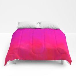 Fuchsia Fire Magenta Violet Ombre Comforters