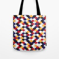 scales Tote Bags featuring Scales by Daisho