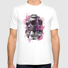 Diving Mens Fitted Tee White MEDIUM