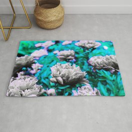 Pop paeony Rug