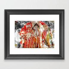 Pzeudo°Bio^Metrik Framed Art Print