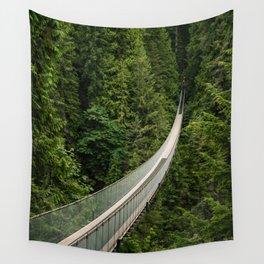 Capilano Suspension Bridge Wall Tapestry