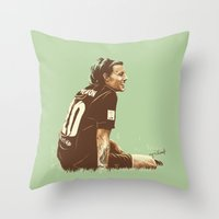 cyrilliart Throw Pillows featuring Louis #5 by Cyrilliart