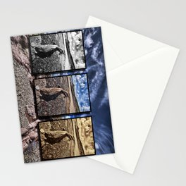 Driftwood Triptych Stationery Cards
