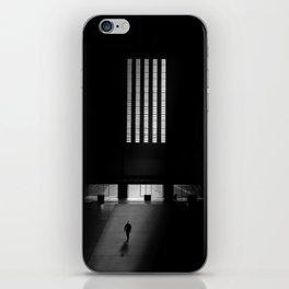 black white photo iPhone Skin