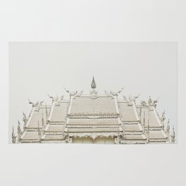 White temple, Thailand Rug