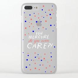 UGH mercury!! Clear iPhone Case