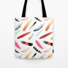 Falling Like Feathers Tote Bag