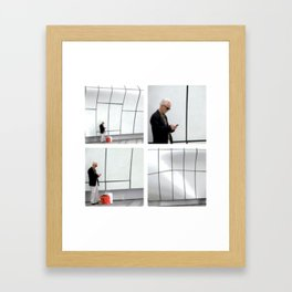 Cubic Perfection Framed Art Print