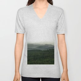 Green Mountain Majesties Unisex V-Neck