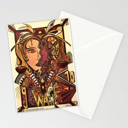Astrology Libra Waage Stationery Cards