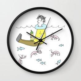River Rat Wall Clock
