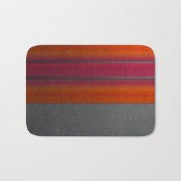 """""""Architecture, cement texture & colorful"""" Bath Mat"""