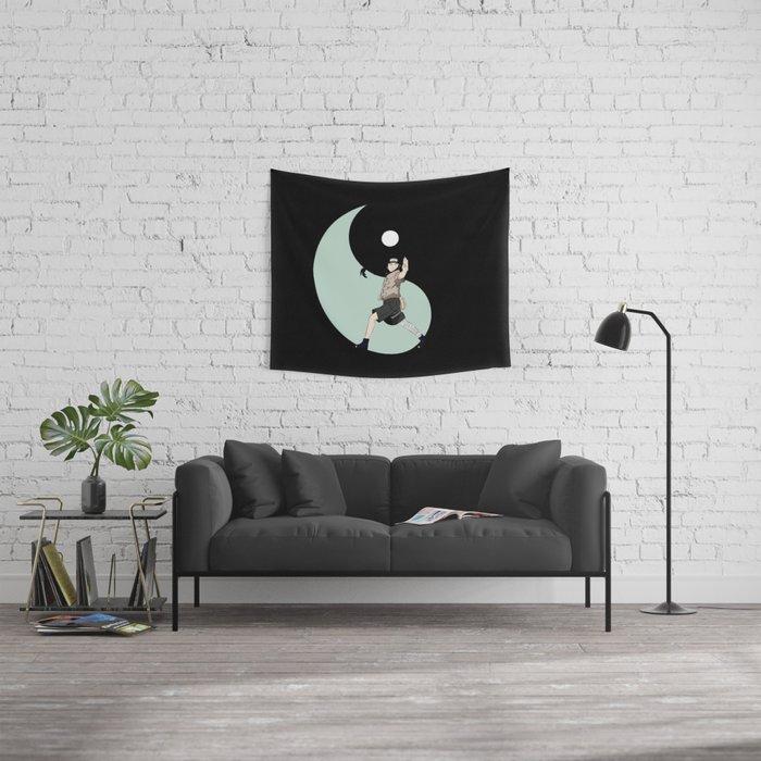 hyuga neji Wall Tapestry