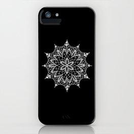 Cosmos Doily iPhone Case