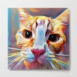Cat 9 Metal Print