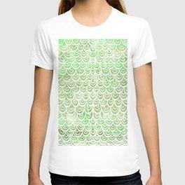 Watercolor Mermaid Peridot T-shirt