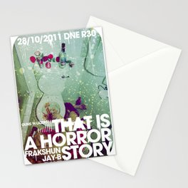 That Is A Horror Story | Halloween 2011 Stationery Cards