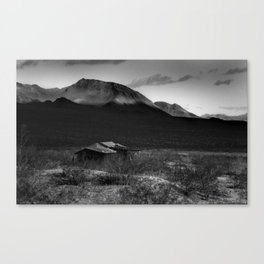 Death Valley Shack Canvas Print