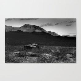 Death Valley Shack Canvas Print