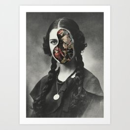 Devil Inside (2016) Art Print