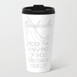 Cinderella: If the Shoe Fits Travel Mug