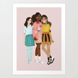 21st Century Schuyler Sisters Art Print