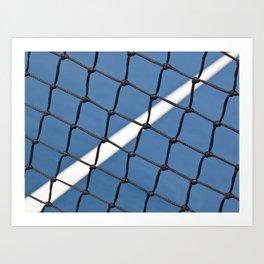 Dividing Line Art Print