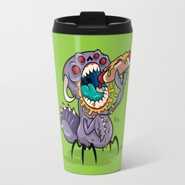 Om Nom Alien Bug Travel Mug