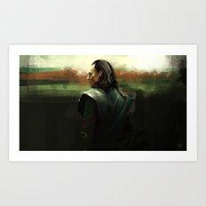 Prisoner Loki  Art Print