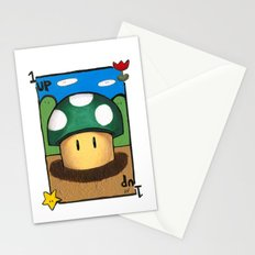 1Up Super Mario Stationery Cards