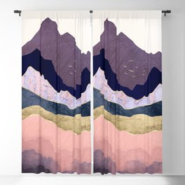 Mauve Mist Blackout Curtain