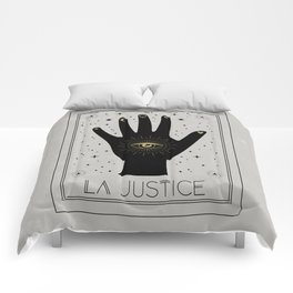 La Justice or The Justice Tarot Comforters