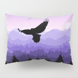 Eagle Skyline Pillow Sham