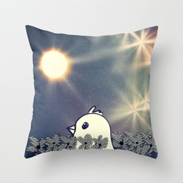 Bird 581 Throw Pillow