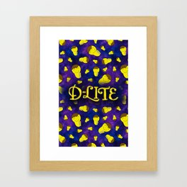D-Lite Dkun Galaxy Framed Art Print