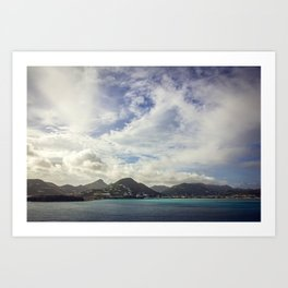 Island Escape Art Print