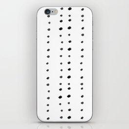 Modern boho dot iPhone Skin
