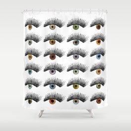 Hypnotic Eyes Shower Curtain