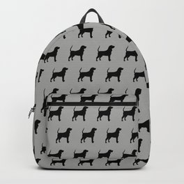 Coonhound Silhouette Backpack