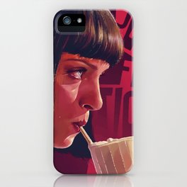 Pulp Fiction iPhone Case