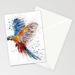 Beautiful Colorful Macaw Stationery Cards