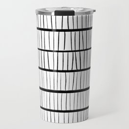 line pattern Travel Mug